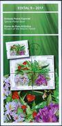 BRAZIL 2017 - Flowers Of The Atlantic Forest   - Edict Nr. 09-2017 - Brazil