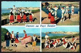 FRANCE - Danses Du Pays Basque - Circulé  - Circulated - Gelaufen - 1963. - Dances