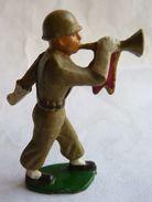 SOLDAT FIGURINE FIG STARLUX FANTASSIN 08 CLAIRON 1954 SR MC - Starlux