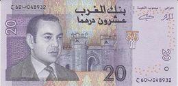 MOROCCO 20 DIRHAMS 2005 PICK 68 UNC - Marruecos