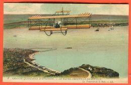 Carte Postale Aviation Le Havre / Trouville Cp Non Voyagé  Scans Recto Et Verso Pour état - Si 147 - Meetings