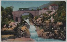 Ferrovia Della Valle Maggia - Pontebrolla - Photo: Wehrli - TI Tessin