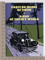 Carte Du Monde De Tintin / A Map Of Tintin's World - Livres, BD, Revues