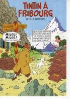 Tintin à Fribourg - Dits Et Interdits - Affiches & Offsets