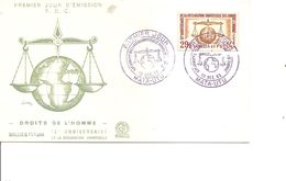 Wallis Et Futuna - Droits De L'homme ( FDC De 1963 à Voir) - Covers & Documents