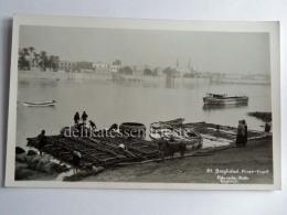 IRAQ BAGDAD Baghdad Mosque Islam Muslim River Eldorado Photo AK Old Postcard - Iraq