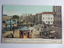 SVEZIA Sverige SWEDEN GOTEBORG TRAM TRAMWAY Old Postcard - Svezia