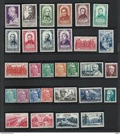 FRANCE - ANNEE COMPLETE 1948 - 30 Timbres Neufs Luxe** Du N° 793 Au N° 822. Voir Descriptif. - Francia