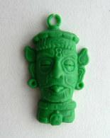 RARE FIGURINE PUBLICITAIRE VITHO - MASQUE VERT - 30 MEXIQUE  Pas DUNKIN AMERICANA - Figurines