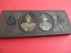 Boite Métallique Ancienne/Confiserie/Souvenir Coronation King Georges VI & Queen Elisabeth/Rowhtree & Co/1937    BFPP143 - Scatole