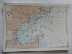 CPSM - RARE - ABORDS ET PORT DE CONCARNEAU - BAIE DE LA FORET - SERVICE HYDROGRAPHIQUE ET OCEANOGRAPHIQUE - R7569 - Cartes Géographiques