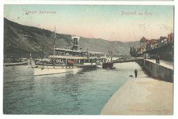 Boppard Am Rhein Dampfer Barbarossa 1907 - Boppard