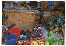 CPM    BURUNDI         FRUITS AU MARCHE CENTRAL DE BUJUMBURA        ENFANT - Burundi