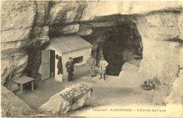 38/CPA A - Sassenage - Entrée Des Cuves - Autres Communes