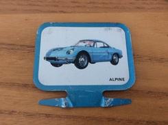 Plaque En Tôle HUILE Mobil «ALPINE RENAULT» (voiture) - Automotive