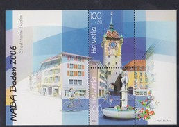 Suisse  B.F. N° 41** - Blocs & Feuillets