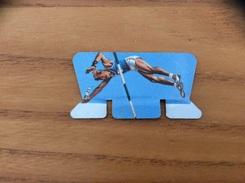 Plaque En Tôle Podium Olympique NESQUIK «FRANCE Maurice HOUVION» (1964) - Sports