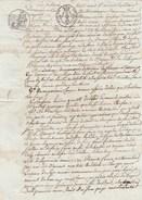 Manuscrit  11/3/1818 - Montmagnier Arnac La Poste  Haute Vienne - Cachet Fiscal - Manuscrits