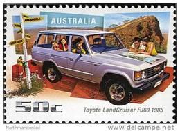 2006. AUSTRALIAN DECIMAL. Driving Through The Years. 50c. Toyota Land Cruiser FJ60 1985. FU. - 2000-09 Elizabeth II