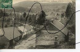 CARTE POSTALE CPA . D39.  Morillon. Entre-deux-monts . Le Hameau De Morillon Et La Chèvre. CI. JOUFFREY - Autres Communes