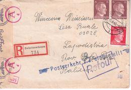 0451  BESETZUNG  SLOVENIJA    BRIEF  1943   ZWISCHENWASSERN-- MEDVODE--NACH   KOPER  -KAPODISTRIA   SLOVENIJA - Deutschland