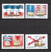 Marshall Islands 1988 Ships - Flags MNH (R0144) - Barcos