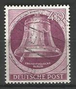 Berlin. Freiheitsglocke, Nr. 79 Gestempelt - Berlin (West)