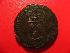France - Sol Au Buste Enfantin 1734 Q Perpignan Louis XV - Rarissime, Très Beaux Détails 3963 - 987-1789 Monnaies Royales