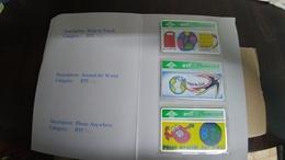 United Kingdom(bti151-153)(20units)(3cards)-(520h)tirage-2.055-Mint+2card Prepiad Free(price Cataloge-5.00£ - United Kingdom