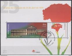 PORTUGAL 1999 HB-153 USADA (1º DIA) - Hojas Bloque