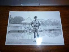 BC7-2-500 Carte Photo 1963 Malaysia Lakk Garderer Jaiping ? Envoyée à Muar  Policier ? (voir Verso) - Malaysia