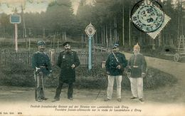 FRONTIERE(DOUANE) CIREY(CARTE EN COULEUR) - Customs