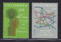 COLOMBIE N°  634 & 635 ** MNH Neufs Sans Charnière, TB  (D1659) - Colombie