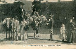 FRONTIERE(DOUANE) SAINT JEAN PIED DE PORT(ANE) - Douane