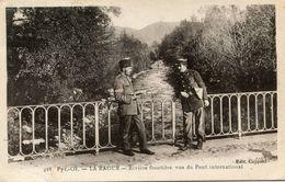 FRONTIERE(DOUANE) LA RAOUR - Douane