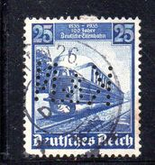 XP2287 - GERMANIA 1935  PERFIN PERFINS , 25 P. Unificato N. 541 Usato - Allemagne