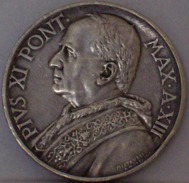 CITTA' DEL VATICANO 10 Lire 1934 ARGENTO - SILVER - Vatican