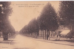 Carte 1930 MOUVAUX / GRAND BOULEVARD DE LILLE - France