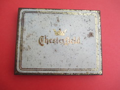 Boite Métallique Ancienne/Cigarettes/Chesterfield/Turkisch Tobacco/Liggett & Myers/USA/Vers 1930-50              BFPP146 - Boxes