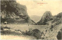 11/CPA - Vallée Du Rebenty - Gorge D'Able - France