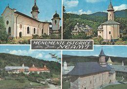 Romania -Momumente Istorice. Monastere.  Sent To Denmark  B-200 - Romania