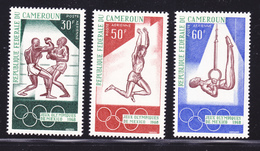 CAMEROUN AERIENS N°  118 à 120 ** MNH Neuf Sans Charnière, TB (D1666) Sports, Jeux Olympiques De Mexico - Cameroun (1960-...)