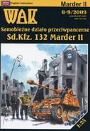 German WWII Tank Destroyer Sd.Kfz.132 Marder II Card Model Scale 1/25 WAK 8-9/09 - Paper Models / Lasercut