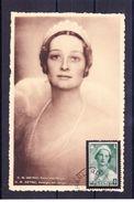 H.M. Astrid, Koningin Der Belgen Gestempeld - Donne Celebri