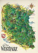 Map - Der Westharz    Germany.  # 07269 - Maps