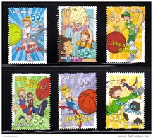 Australia 2009 Let's Get Active Set Of 6 Sheet Used - 2000-09 Elizabeth II
