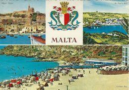 Malta - Views.  Sent To Germany.      # 07272 - Malta