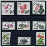 "Monaco YT 514 à 522 "" Fleurs "" 1959 Neuf** - Unused Stamps"
