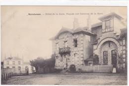 Eure-et-Loir - Maintenon - Hôtel De La Gare, Façade Sur L'avenue De La Gare - Maintenon