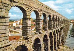 1 AK Spanien * Römischer Aquädukt Von Segovia - Erbaut Im 1./2. Jh. - Seit 1985 UNESCO Weltkulturerbe - Segovia